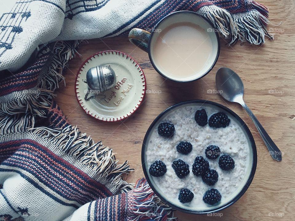 Hot Porridge, Cold Morning