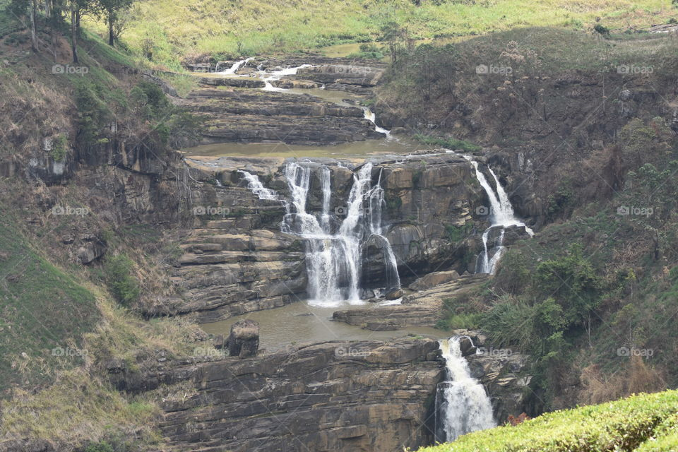 No rains but these beauties somehow gives us a bit of a Water and shows us its beauty. # beautiful Waterfall