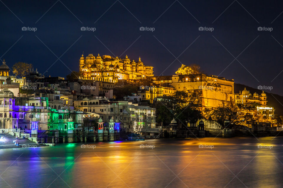 Udaipur, the city of lakes. Located in Rajasthan region has the best architectures in India