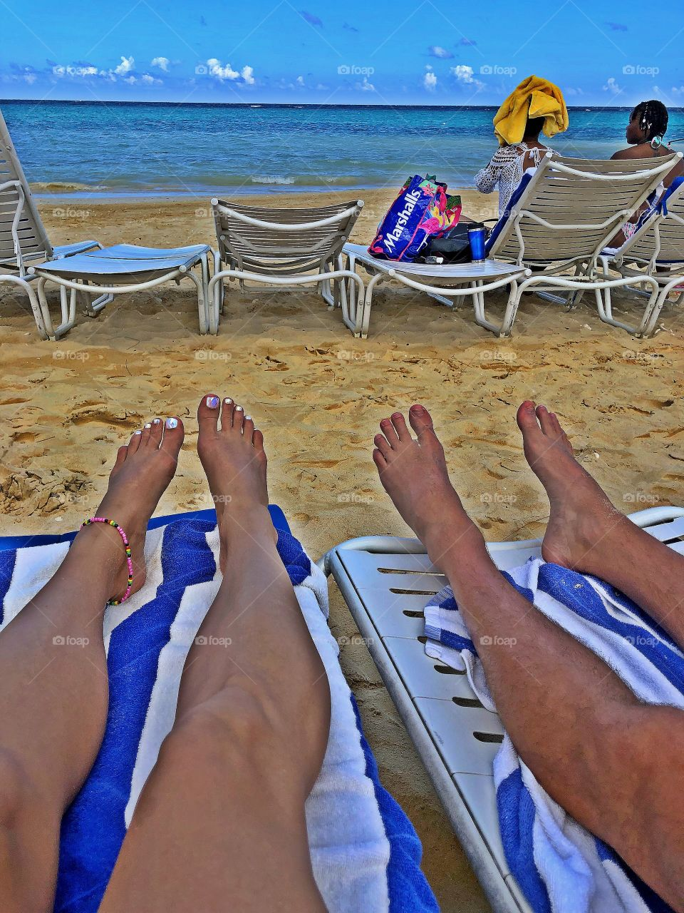 Vacay with the hubby in Ocho Rios, Jamaica.  Summertime in December 2018.  Such a beautiful day & memory.