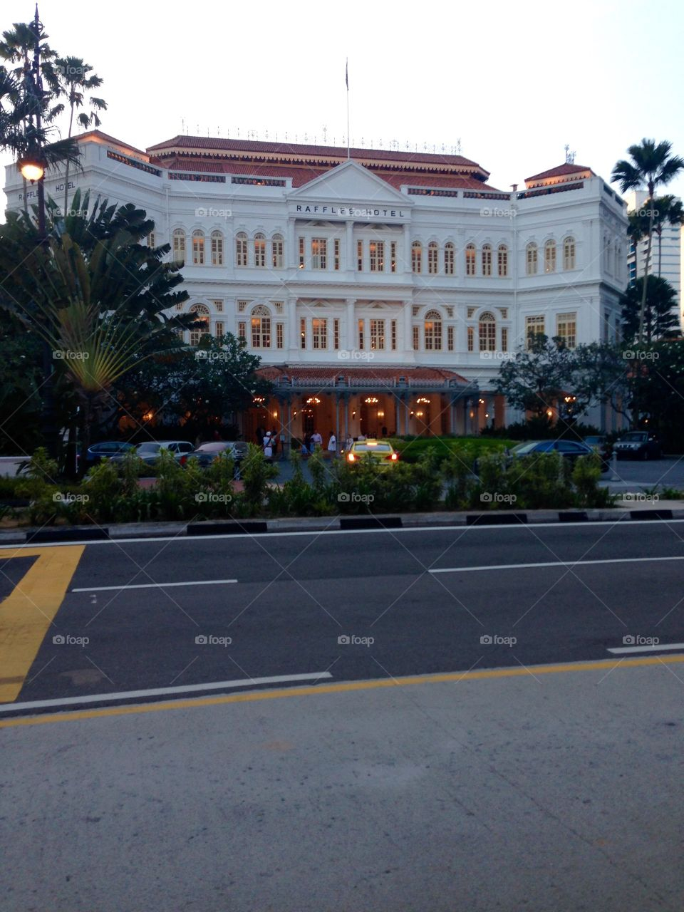 Raffles hotel home of the Singapore Sling