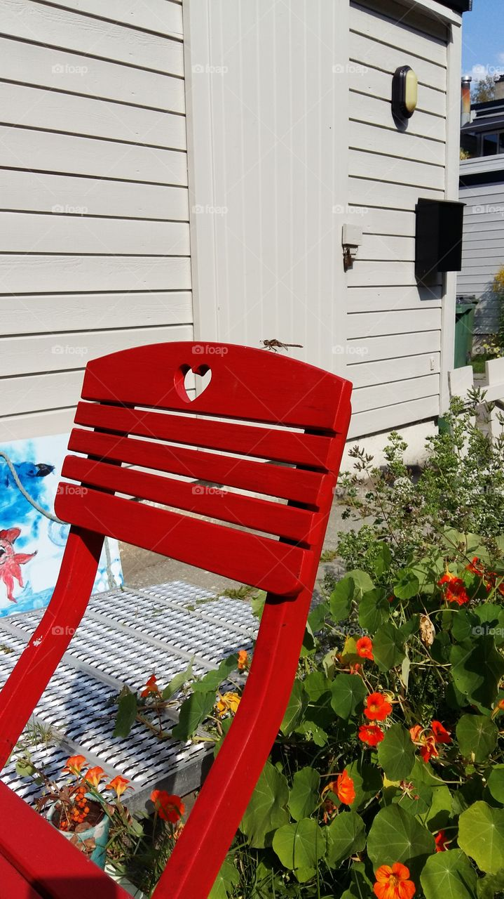Chair with a heart!