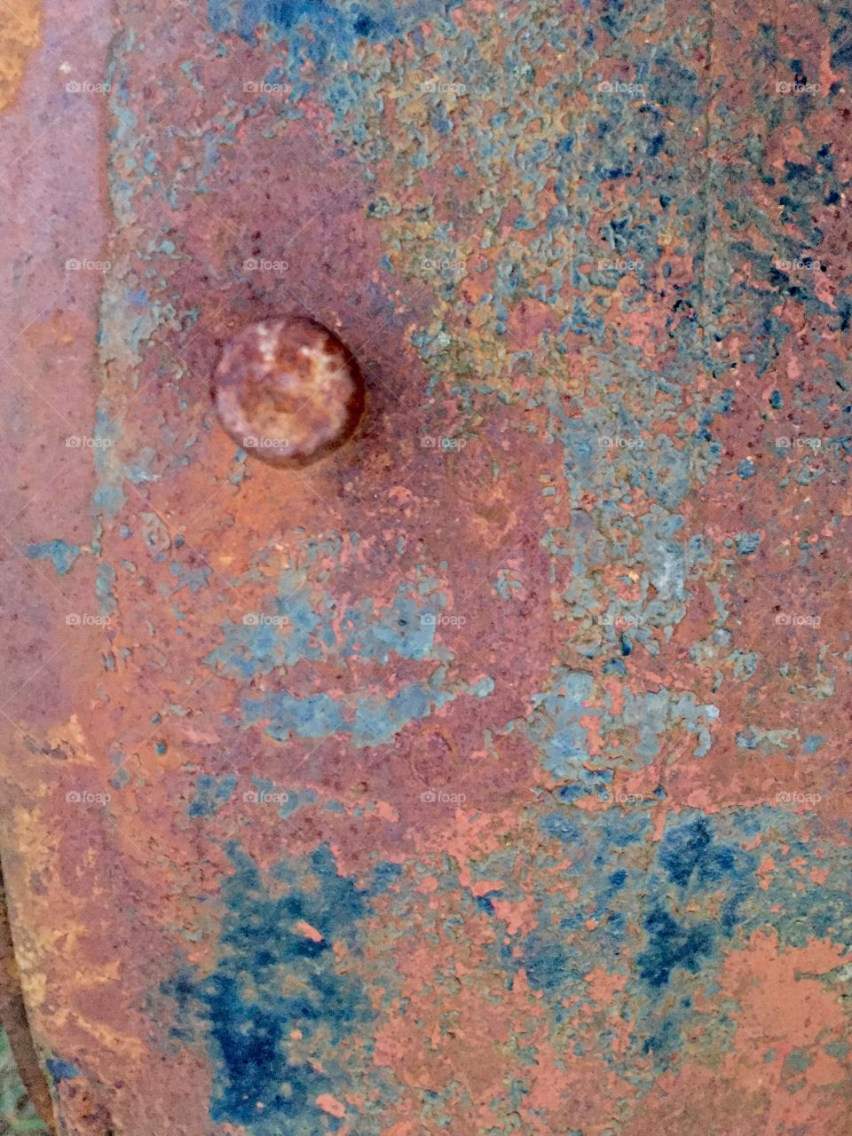 Creative Textures - black rusted steel surface