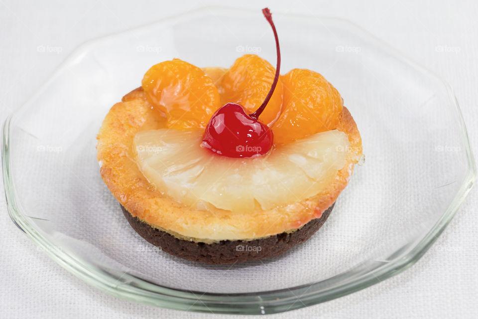 Yummy fruits cake