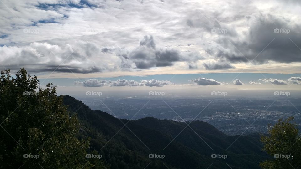 View from Mount Wilson