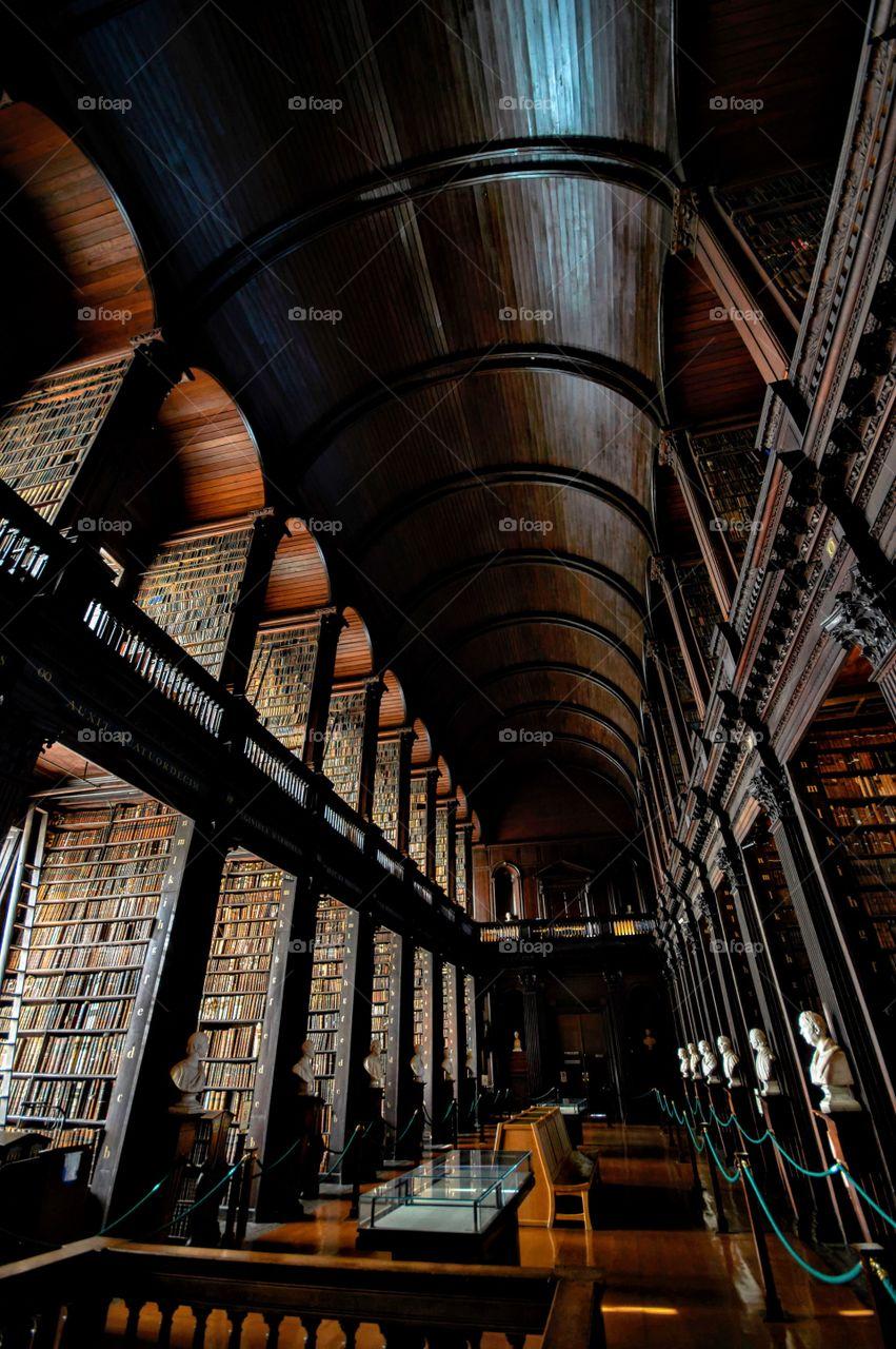 Dublin college library