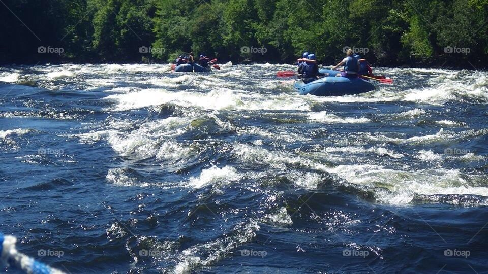 Rafting Kennebec River