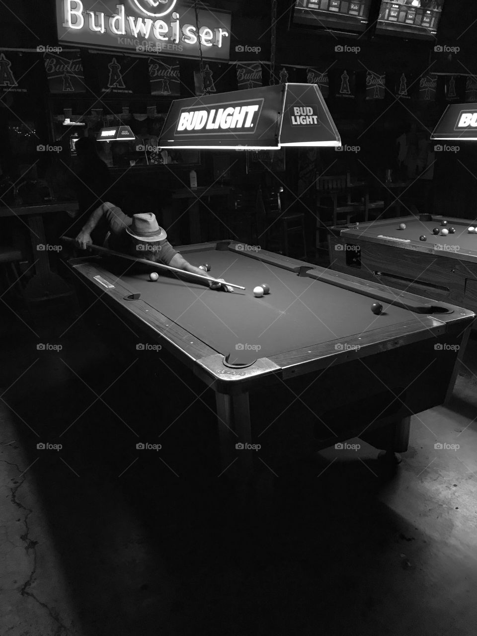 Corner Pocket- I captured this, while shooting some live performance shots, and an intimate little venue, in Huntington Beach, California.