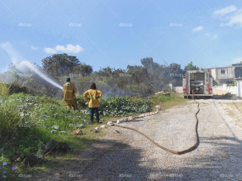 Fighting Bushfire