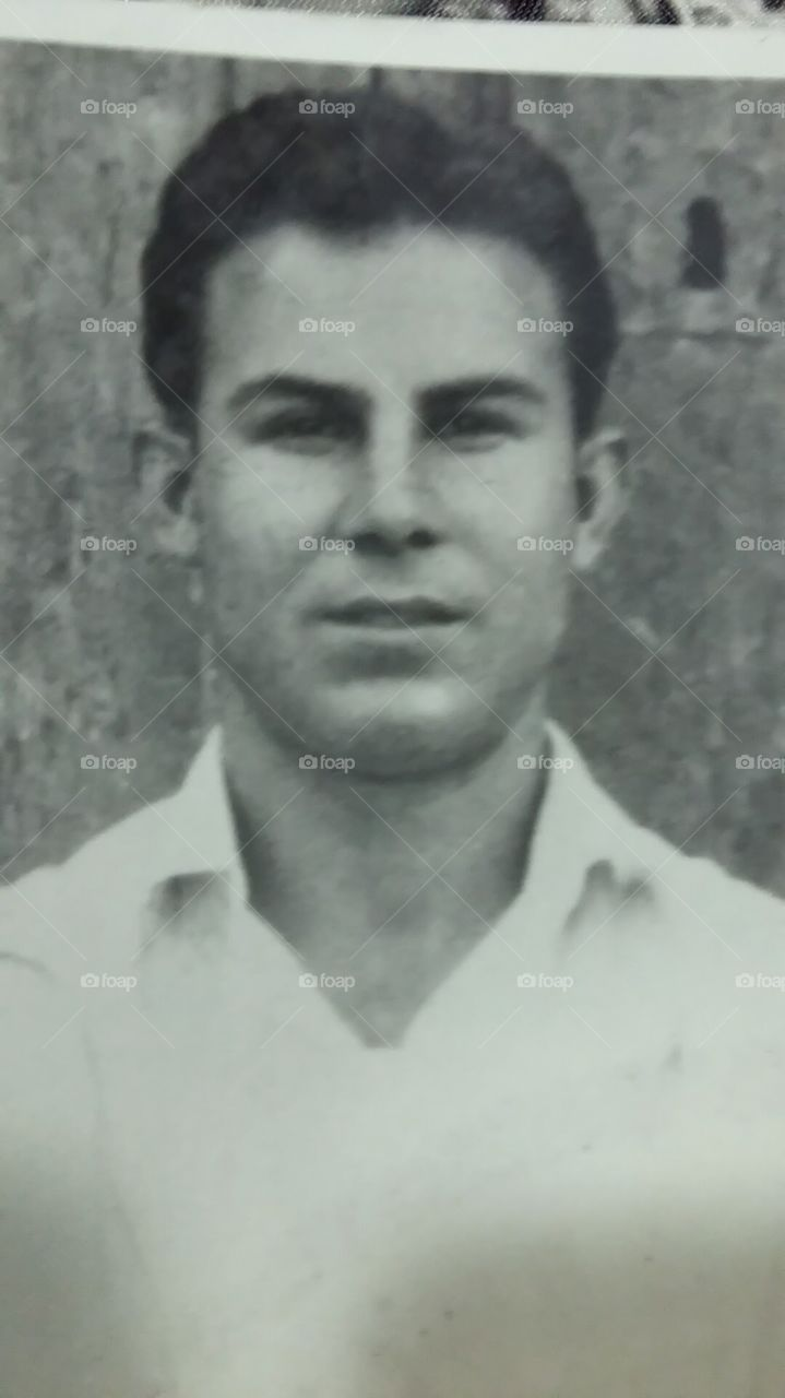 Mi padre, 1950.