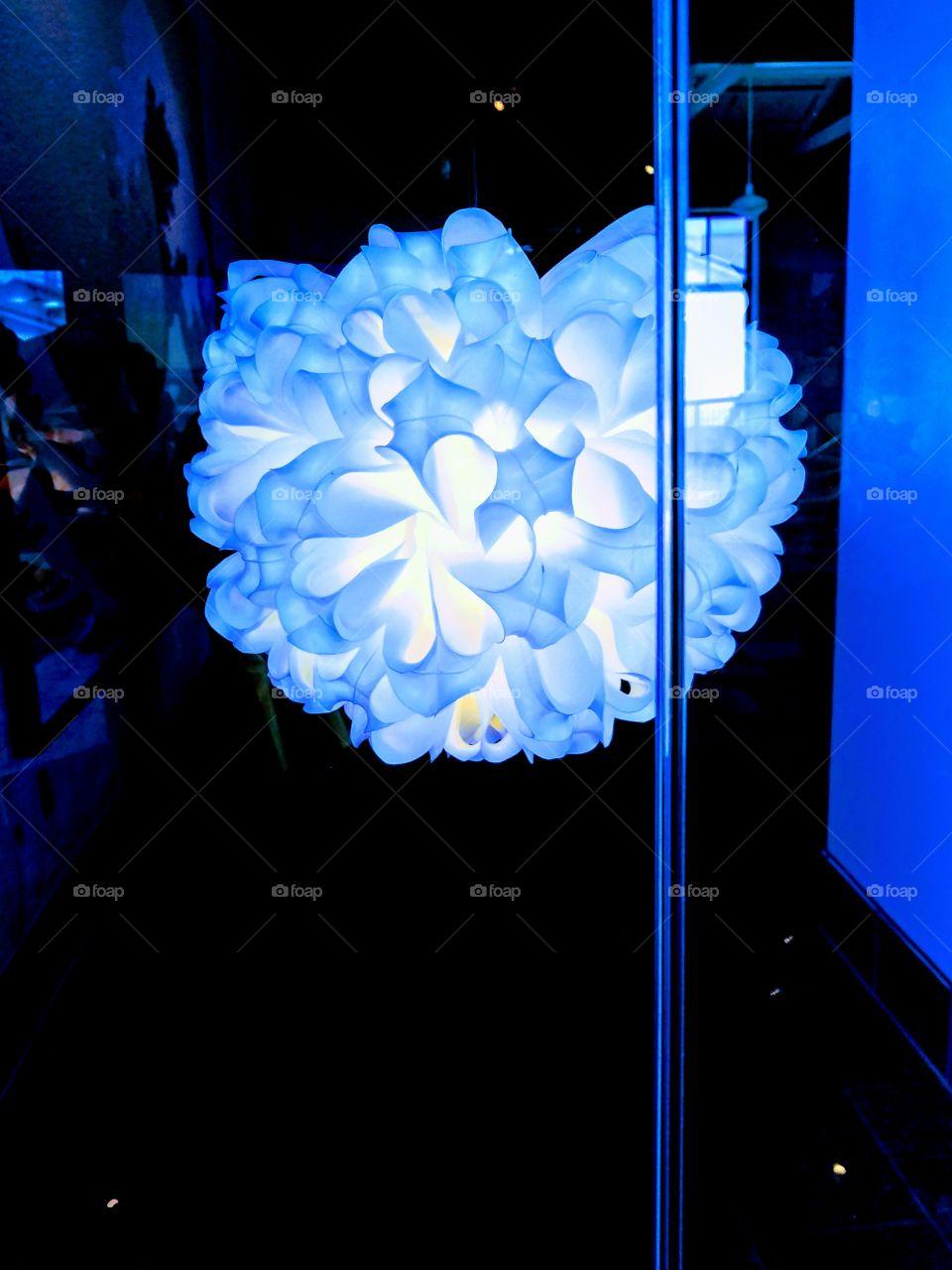 Fine Art Light made from Plastic