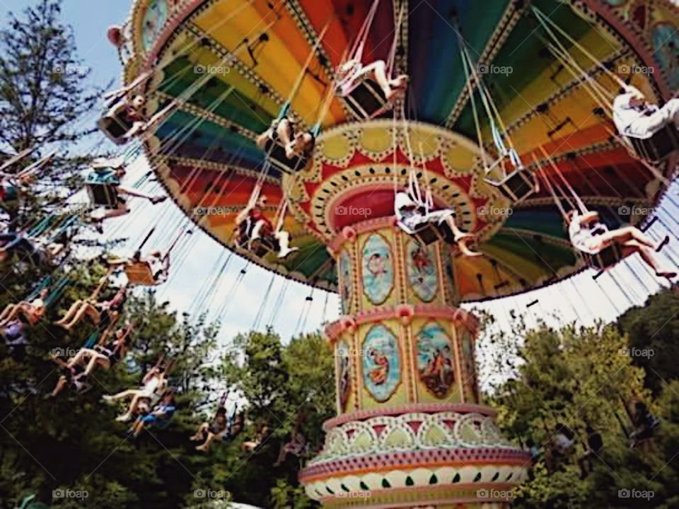 Knoebels. A classic ride at central PA's famous park