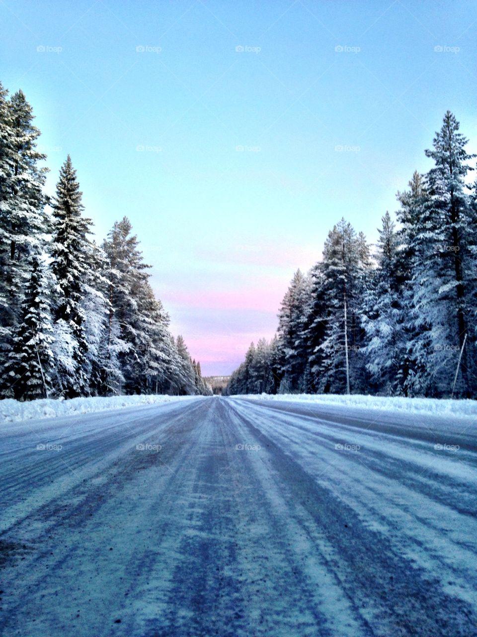 Swedish winter