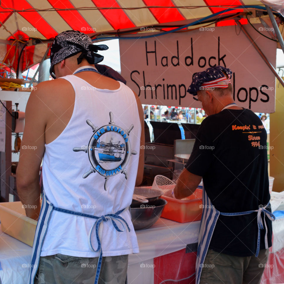 Street Food is ready to eat food or drink sold by a vendor or hawker, in street or other public place, such as a market or fair. I often buy Street Food from a portable food booth, food cart or a food truck! Yummy, yum!