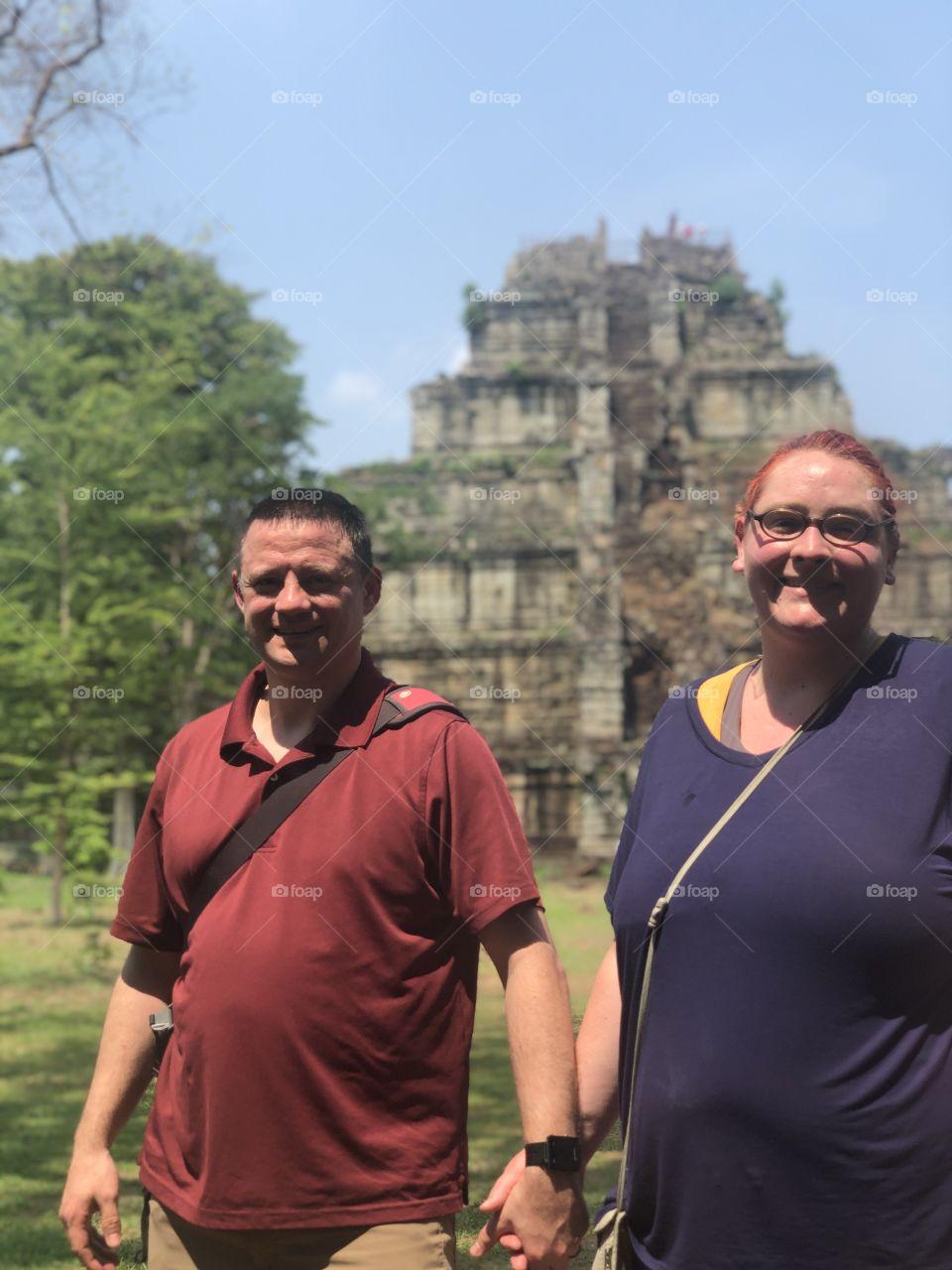 Cambodia Ruins 12th Century.