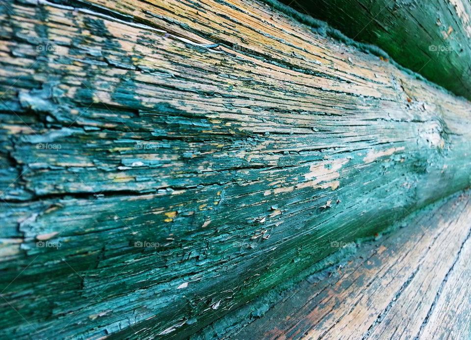 Vintage wooden texture perspective