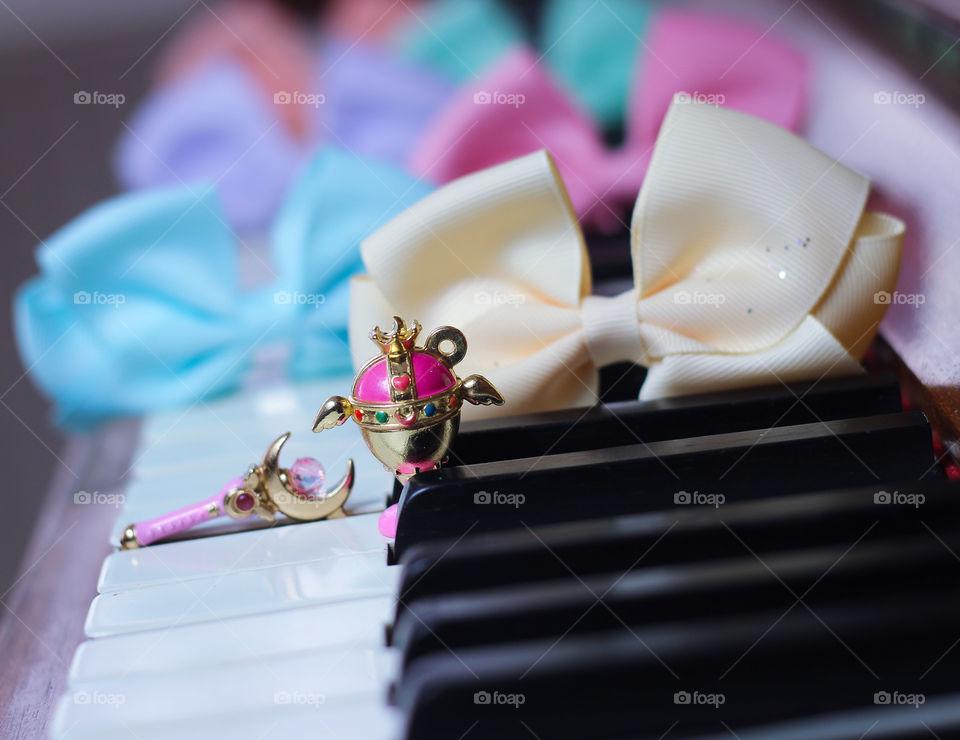 sailor moon piano ribbon