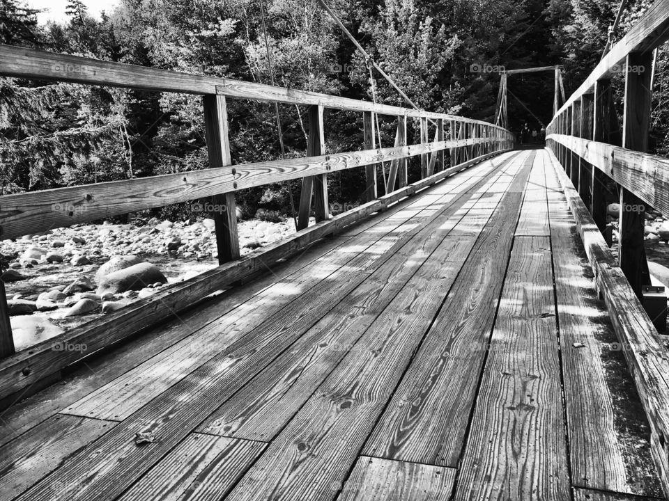 Walking Bridge New Hampshire