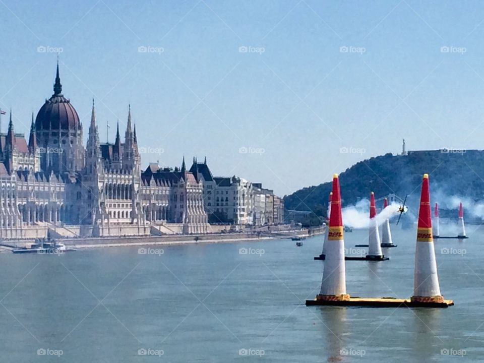Air Race. Enjoying watching the Red Bull Air Race whilst on a city break in Budapest ...
