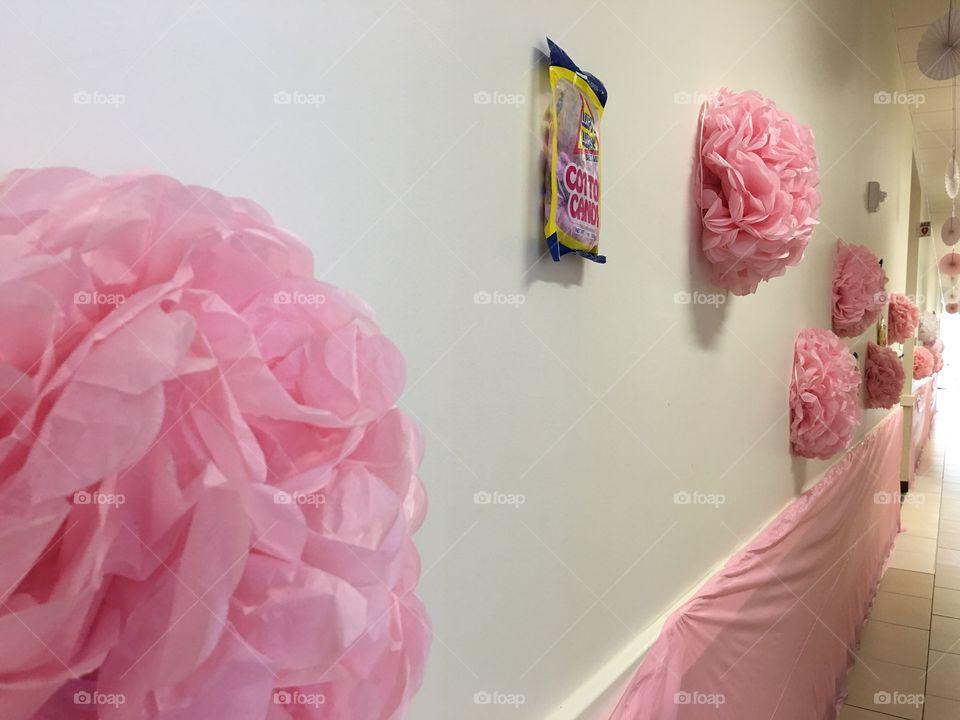 Pink, pink, polka dot pink.