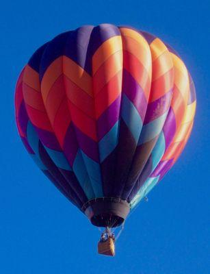 Hot Air Balloon, Taos, NM
