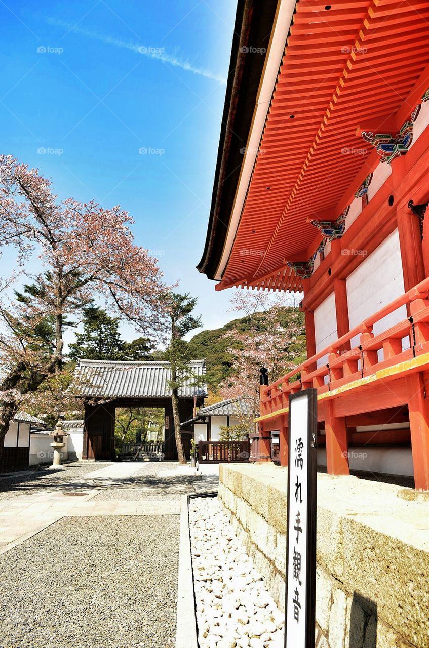 shrine area