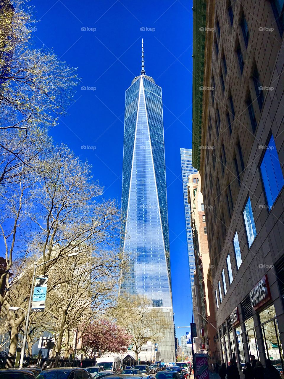World Trade Centre from a distance