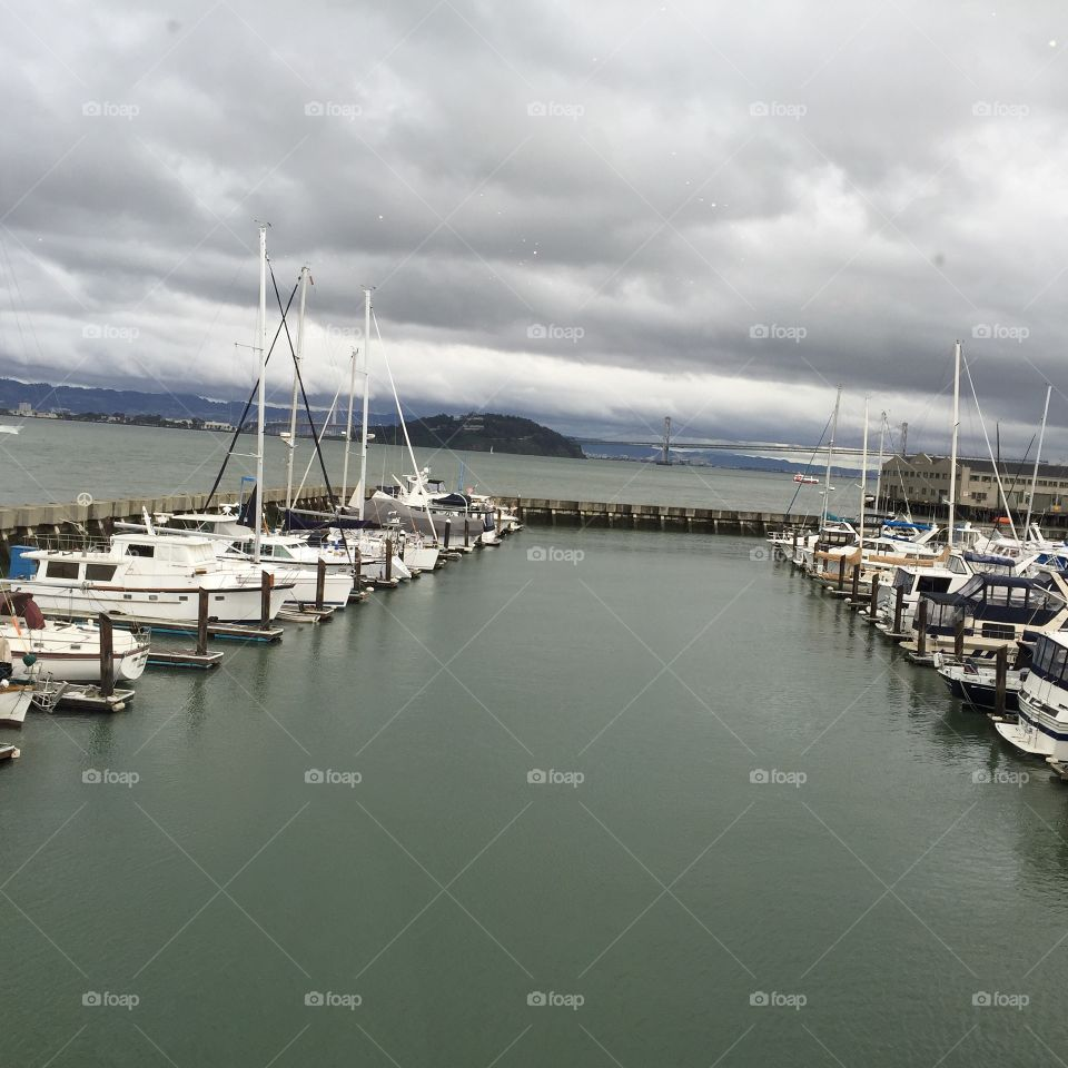 Pier 39 marina in San Francisco