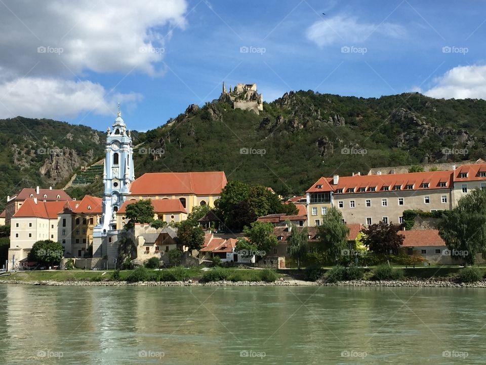 Durnstein, Austria. Durnstein, Austria