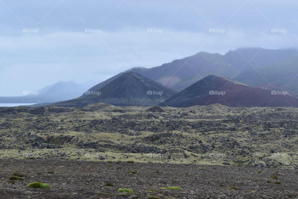 Mystic Volcanoes