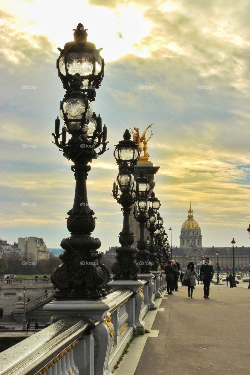 Atmosphere in Paris