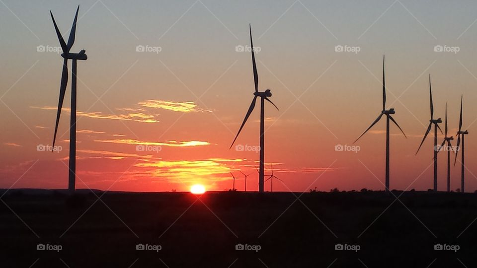 Sunset -  In The Arbuckles