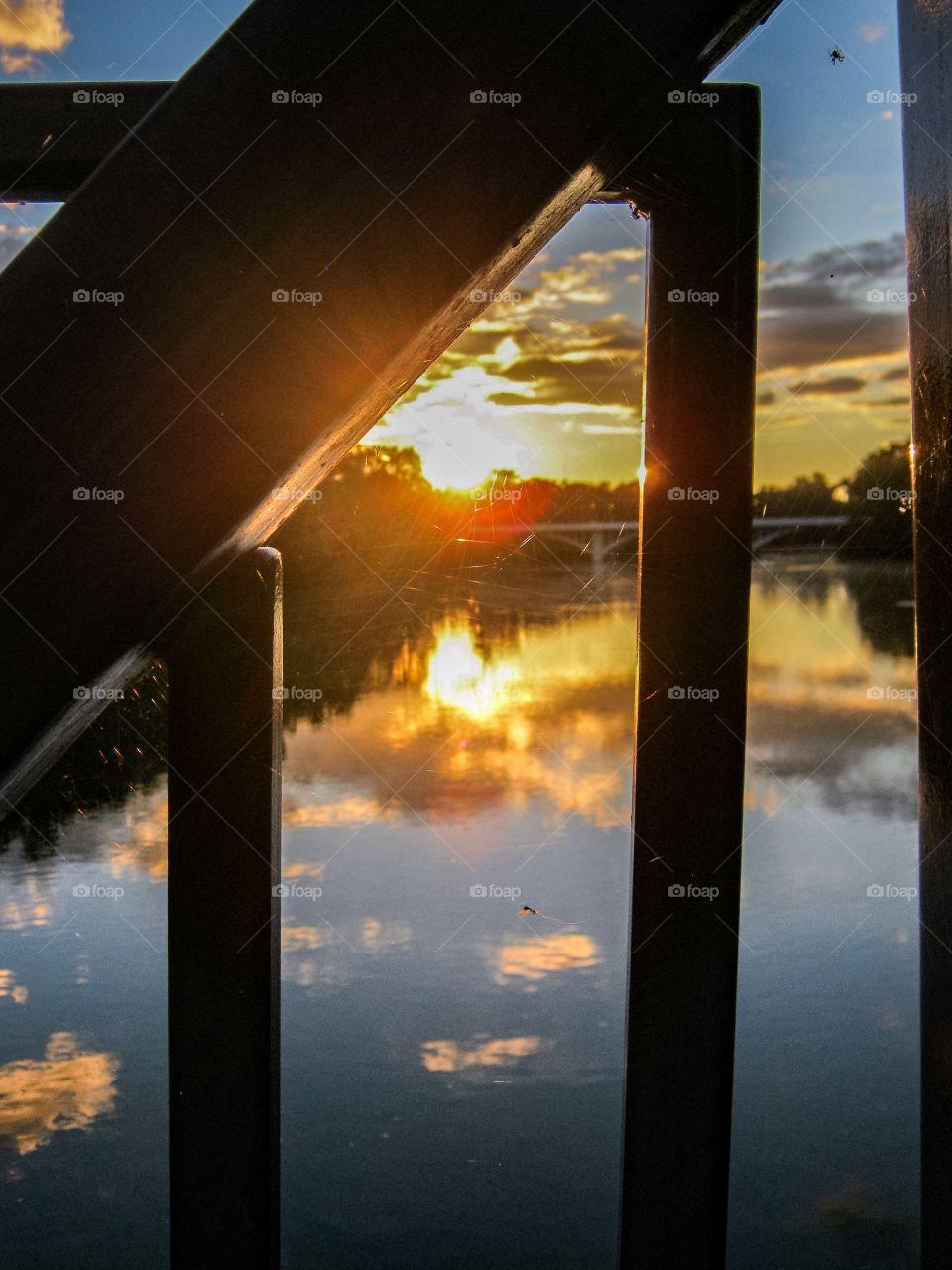Web designer Sunset