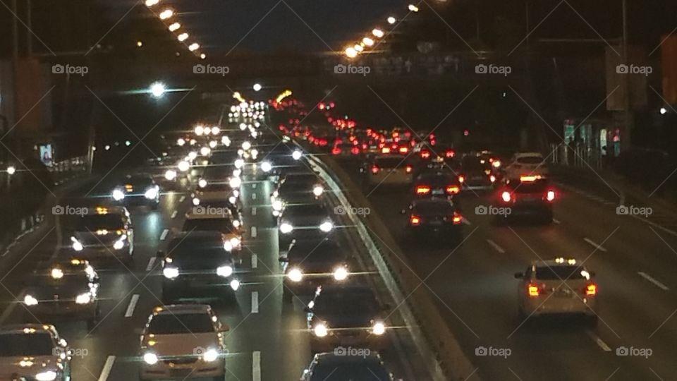 Evening Commute in Beijing