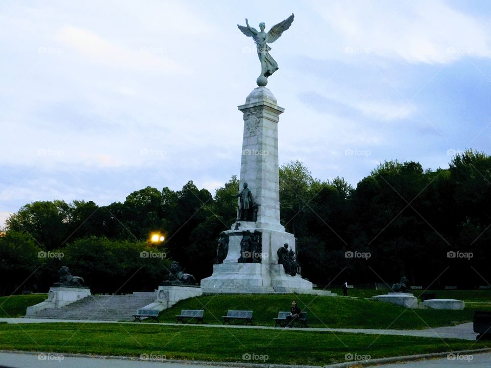 Mount Royal park in Montreal