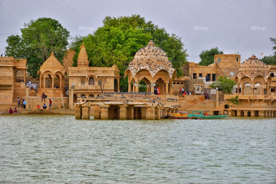 view of Gadisar Lake, Jaisalmer