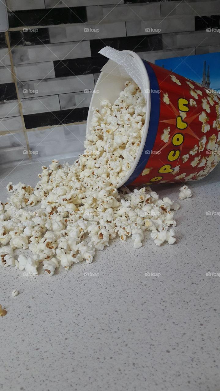 popcorn ,movie time