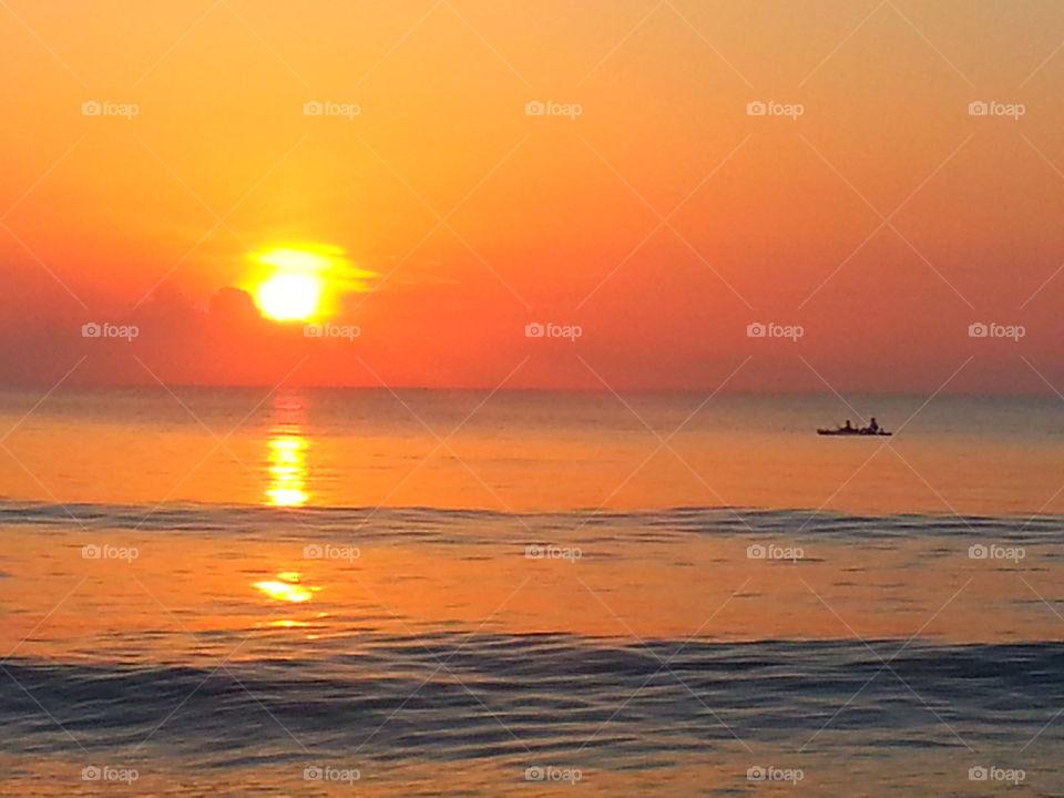 sunset. Florida