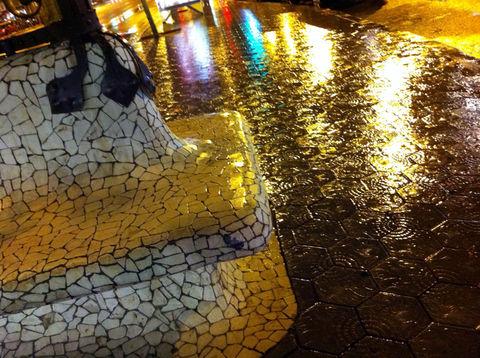 La lluvia. Se viste de lluvia se luce más