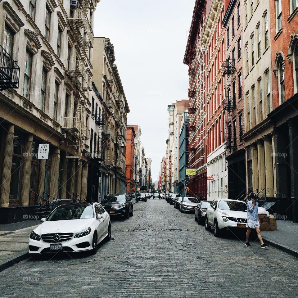 Street, City, Architecture, Urban, Road