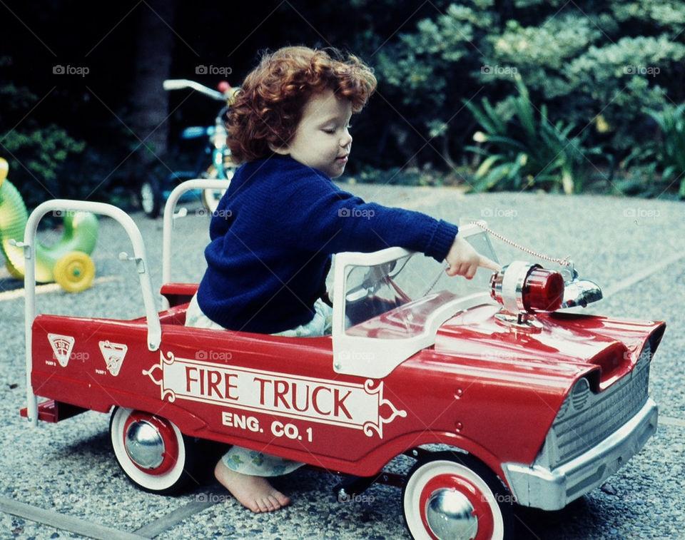 red fire fireman boy by bluehair. Future Fire fighter
