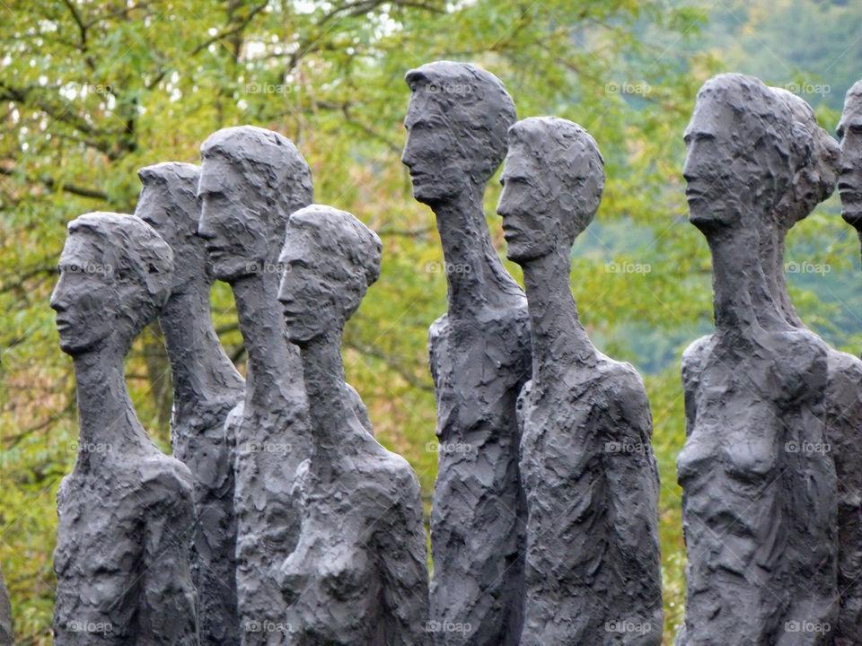 people art sculpture man by Bea