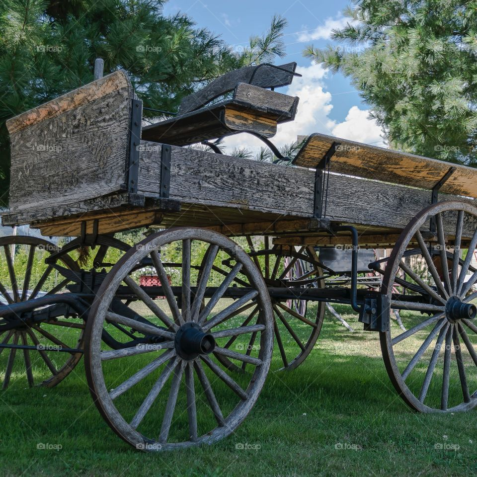 Great old supply wagon