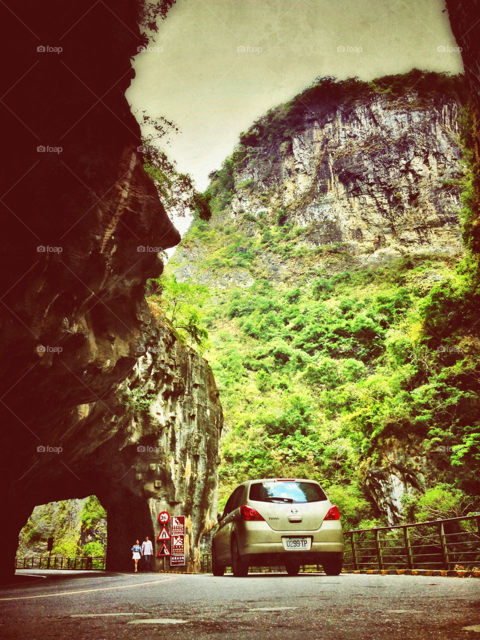 Hualien, Taiwan. Mountain adventures