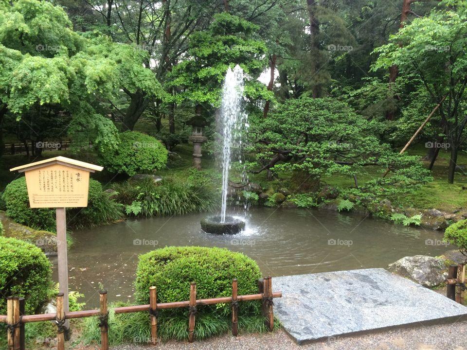 噴水  日本京都