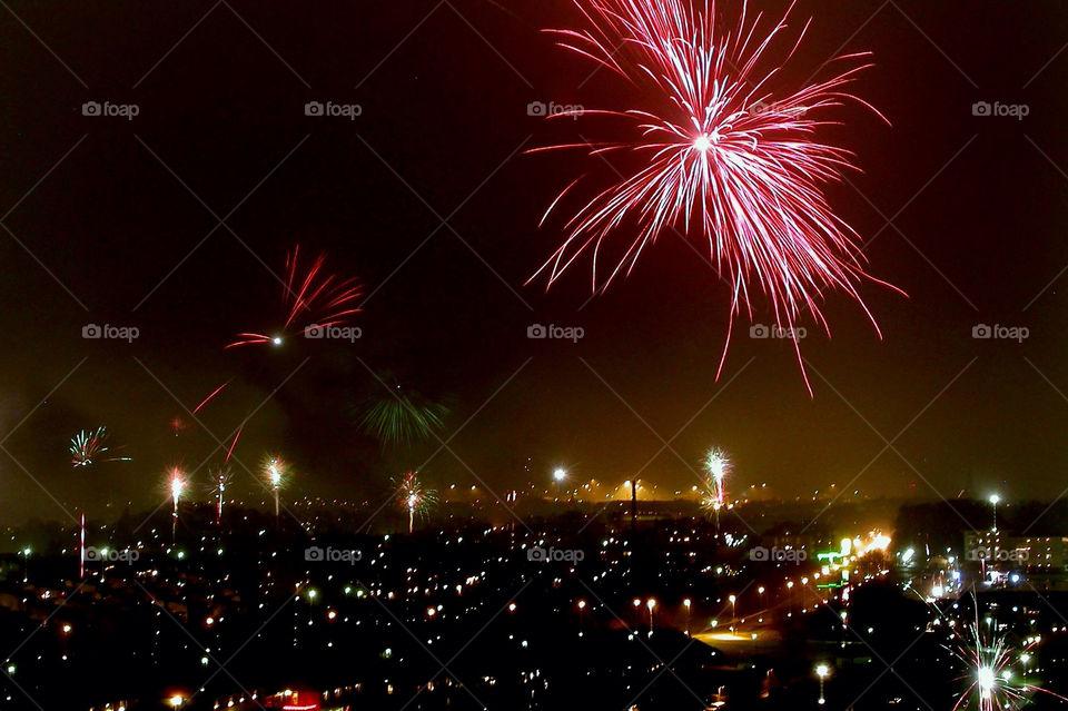 city party ystad fireworks by schalock