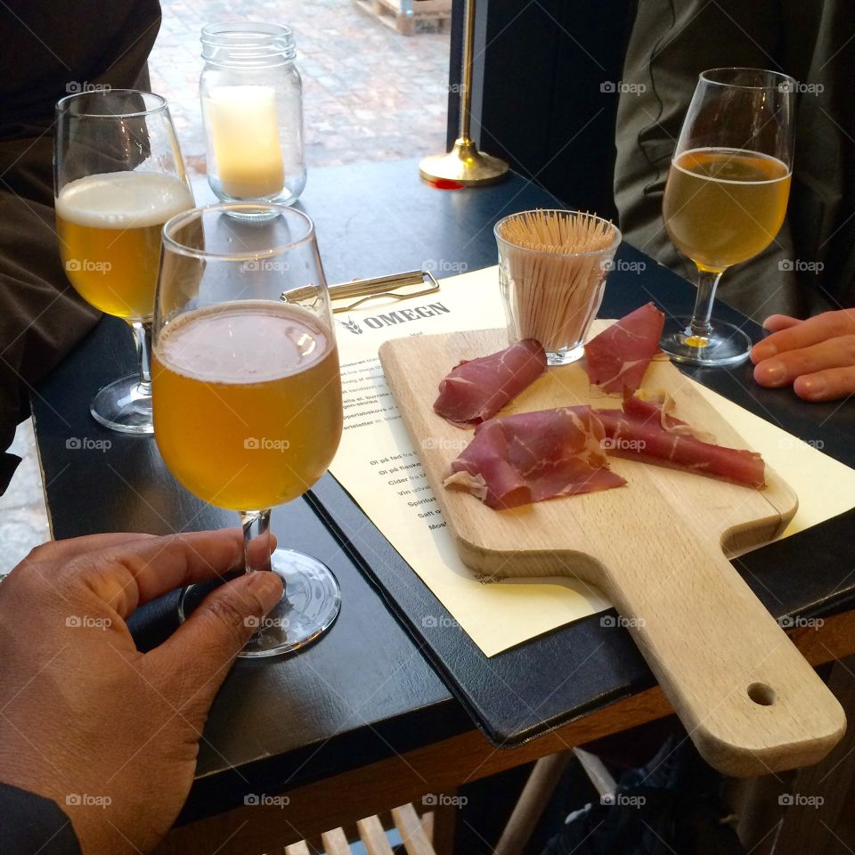 Our Food Tour In Copenhagen, Denmark - Beer and Charcuterie.
