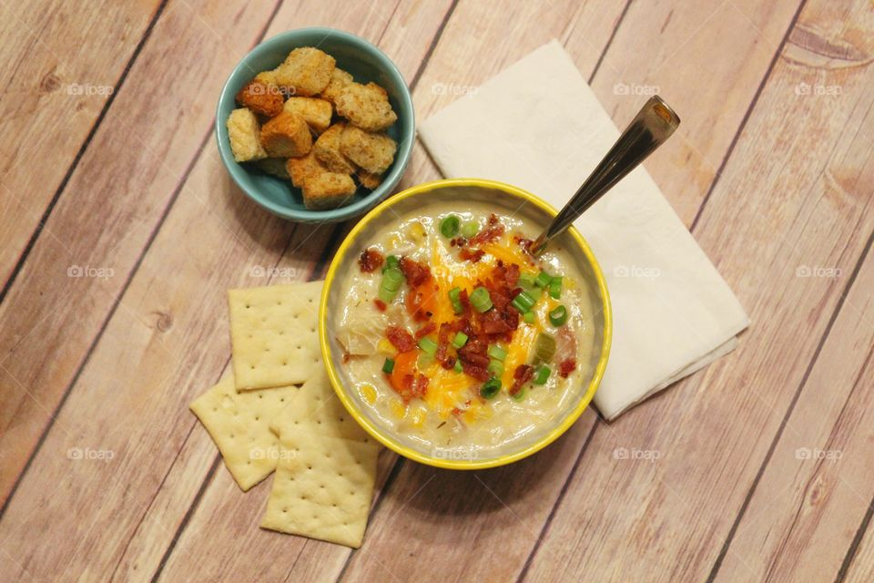 Chicken and corn chowder