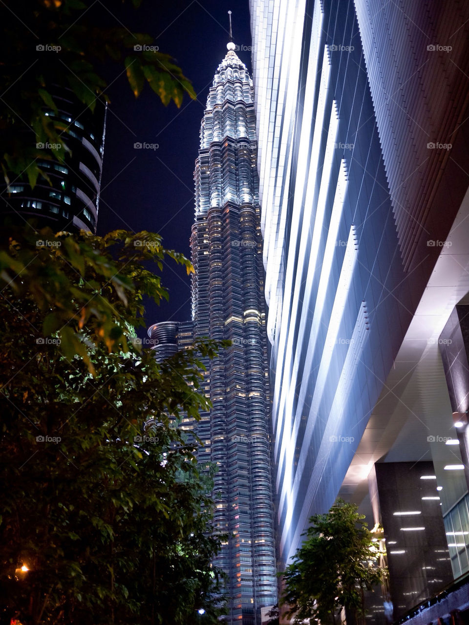 half of the famous KLCC