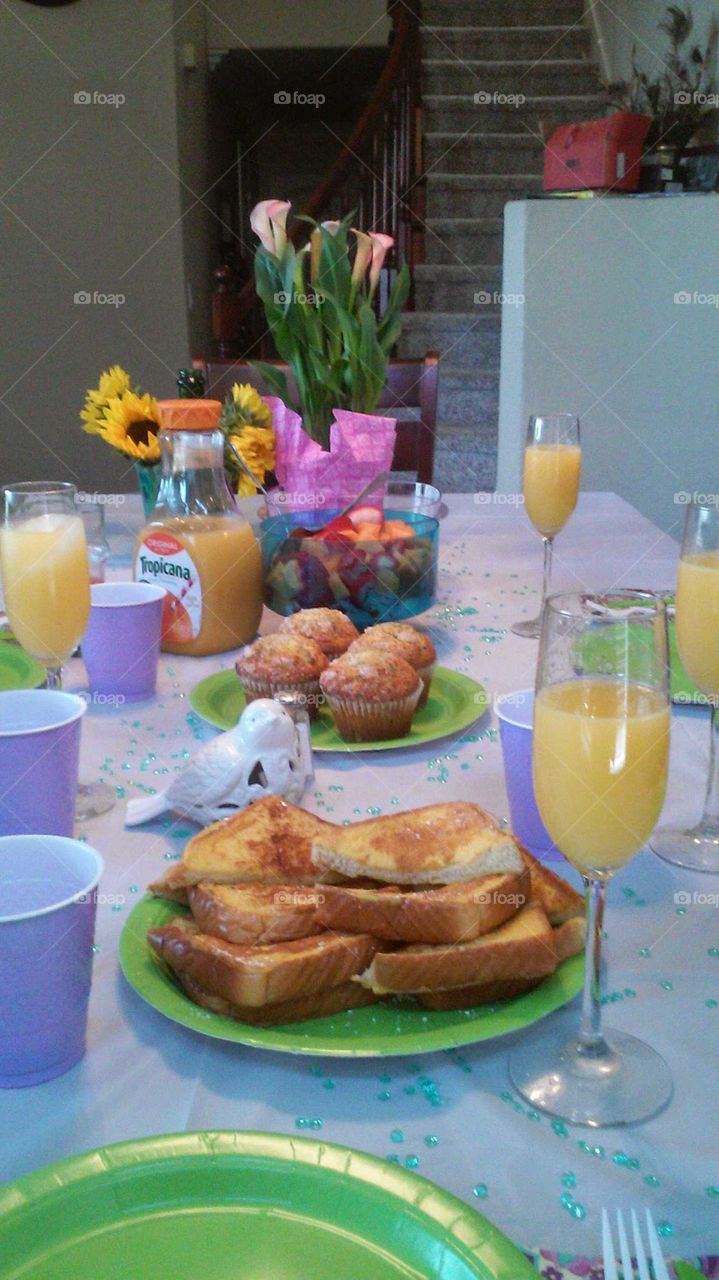 morning Breakfast for Mom
